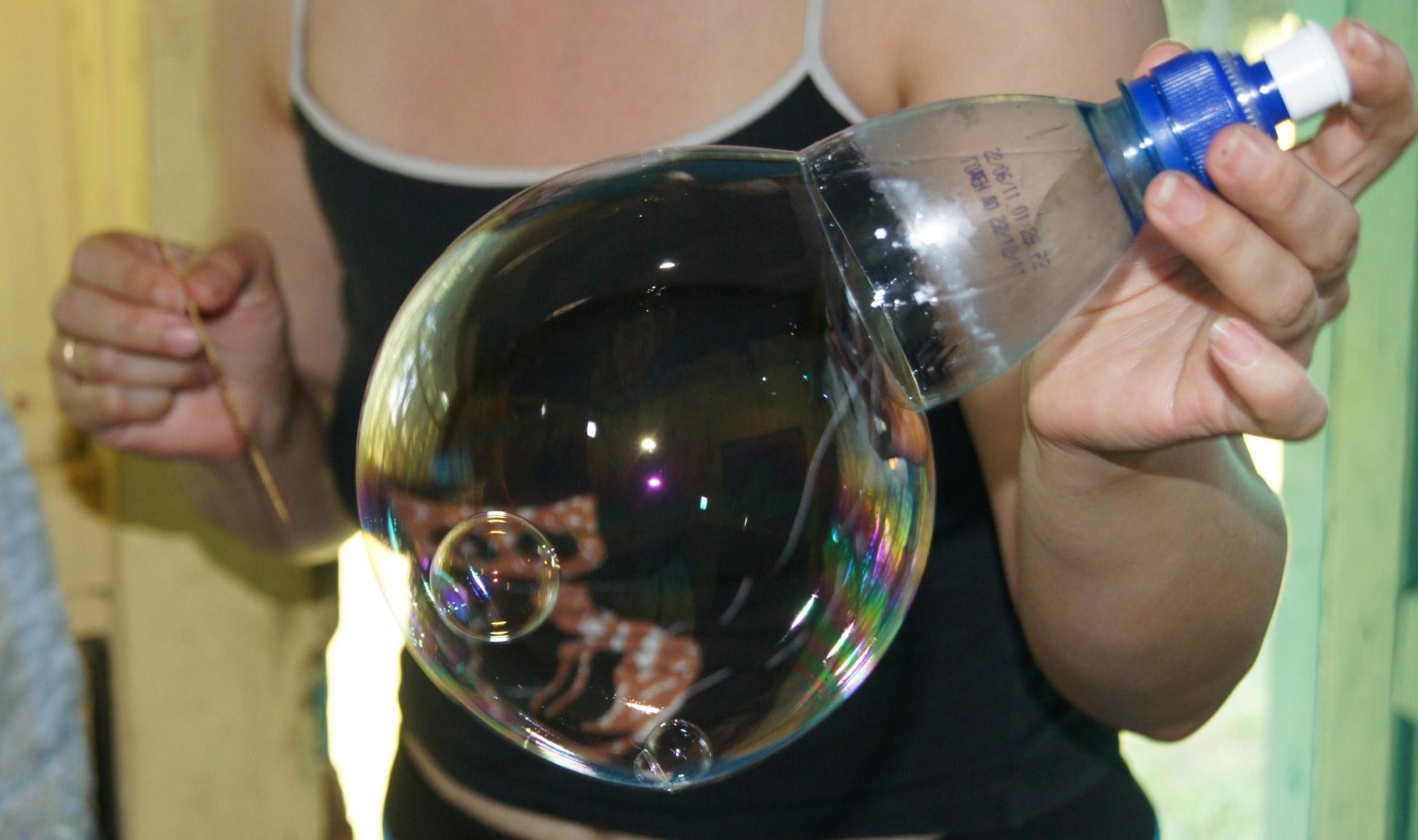 Приборы для выдувания мыльных пузырей своими руками