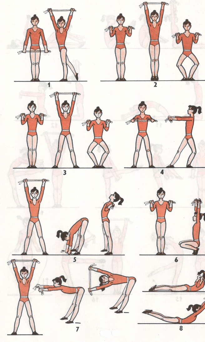 Гимнастика в домашних условиях упражнениями