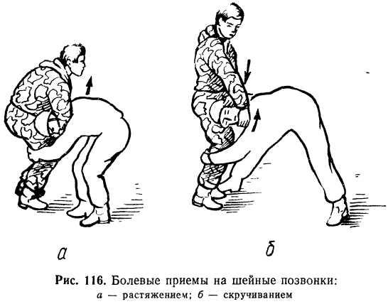 болевые приемы на суставы