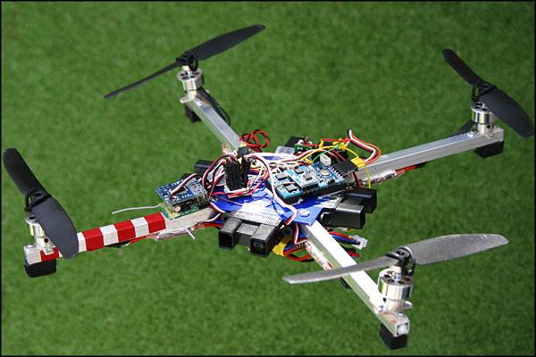 Квадрокоптер в домашних условиях 893