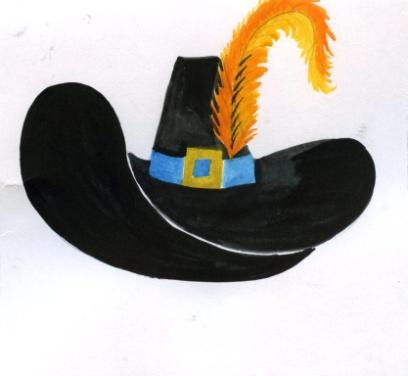 Как сделать шляпу для кота в сапогах