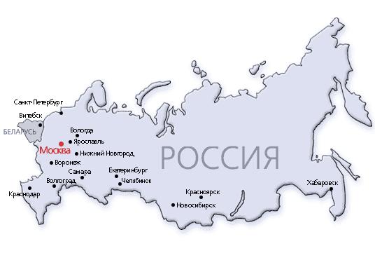 Как нарисовать карту россии поэтапно