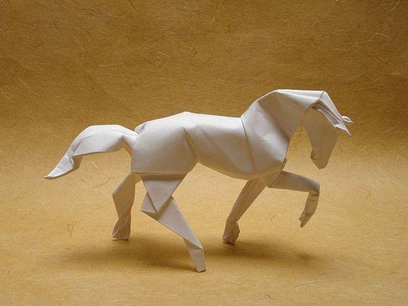 Лошадь своими руками из бумаги