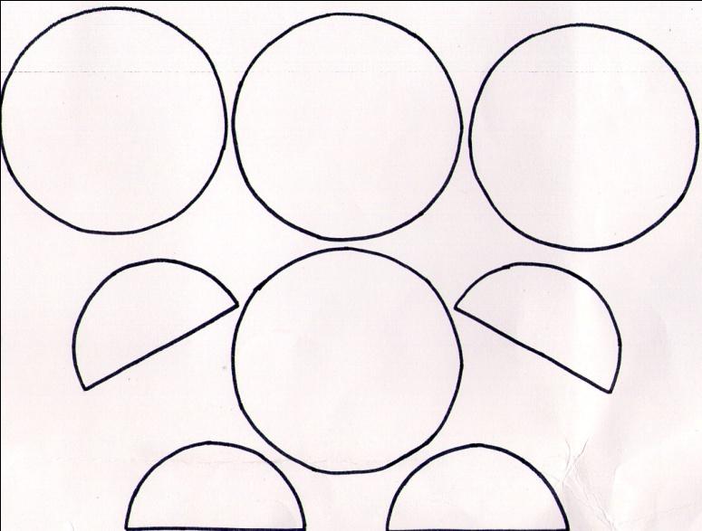 Как из кругов сделать два 81