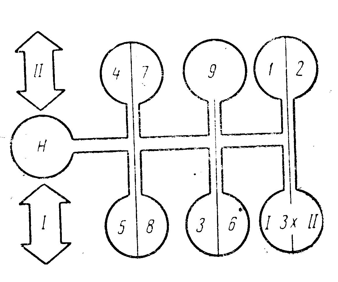 Схема передач мтз 80